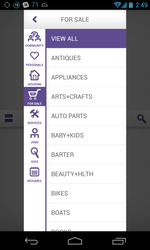 Mokriya Craigslist for Android